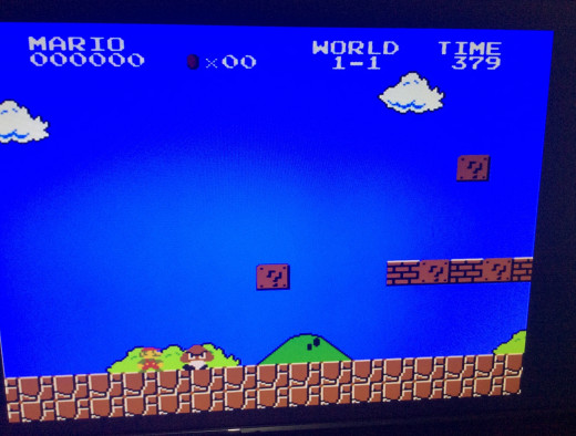 The graphics were bright and playful. Oh and inspired by alice in wonderland. Like Alice, Mario is either to small for the world he lives in.