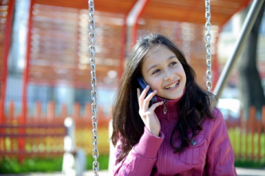 Many parents point to safety as the main reason they give their child a cell phone