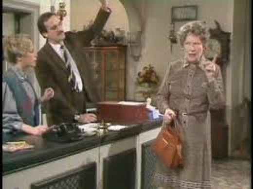 Fawlty Towers - Are you deaf?