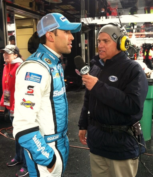 Almirola's third place finish was his best ever at Bristol