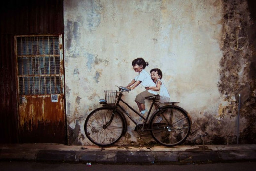 Penang, Malaysia (Artist: Ernest Zacharevic)