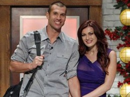 Brendon and Rachel together on Big Brother 13.