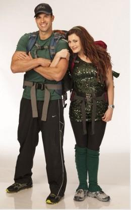 Brendon and Rachel on the Amazing Race 20.