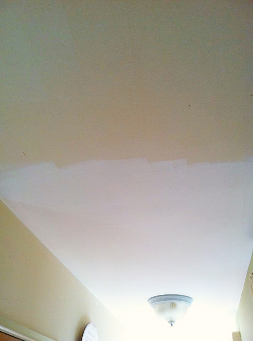 Ceilings often go unnoticed but when you see new and old together, it becomes quite apparent.