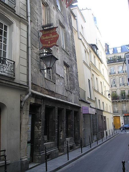 Flamel's home, 51 rue de Montmorency, Paris.