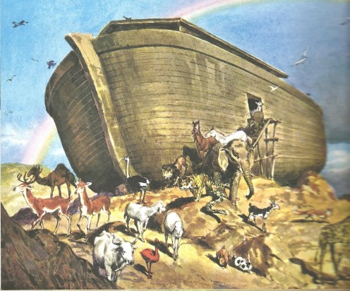The Ark Comes to Rest.