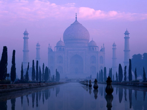 The famous Taj Mahal was built as a grave because of a wonderful love story.