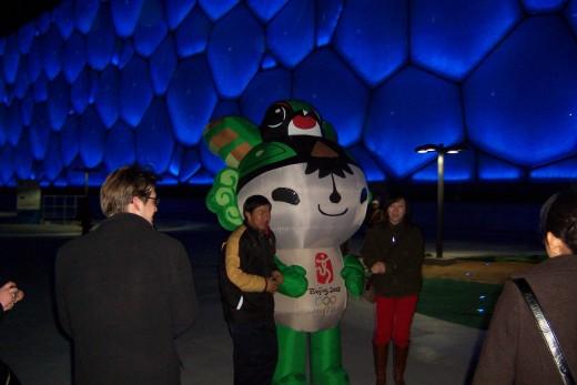 "Beijing Summer Olympics mascot ""Nini"""