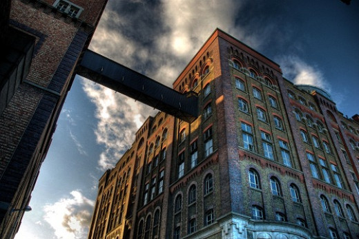 The Guinness Storehouse, photographed by Pat Swan for the Guinness Photo gallery competition