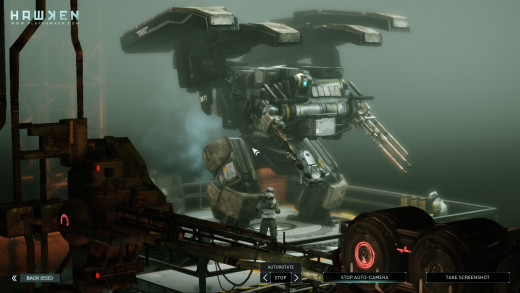 HAWKEN's mechs are a work of eye candy