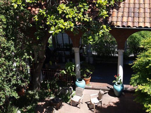 A Patio/Garden . . .