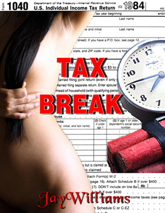 "Another eBook by the author. In ""Tax Break"" a man plants a bomb in the Austin IRS after they confiscate his bar for unpaid taxes."