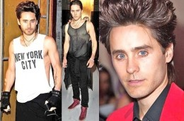 Jared Leto does yoga and has a vegan diet.