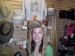 I had some fun trying on moose hats during a girls trip to Algonquin Park. I purchased this one. :)
