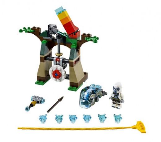 Lego 70110 - Chima Speedorz Tower Target