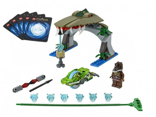 Lego 70112 - Chima Speedorz Croc Chomp