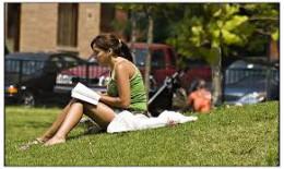 Reading in Erie Park
