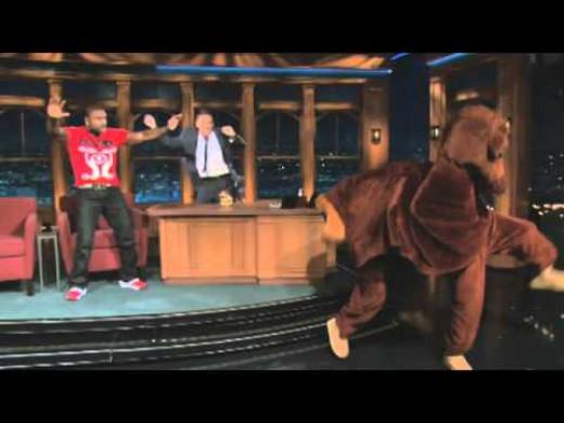 Secretariat Dances on The Late late Show