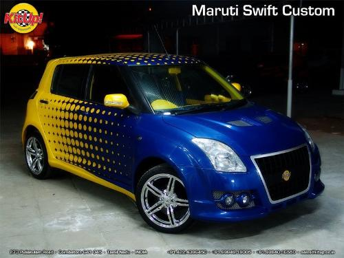 A Modified Maruti Swift Diesel.