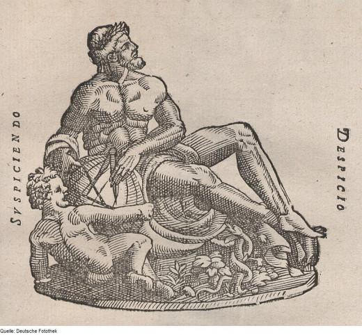 Gott Uranus by Tycho Brahe