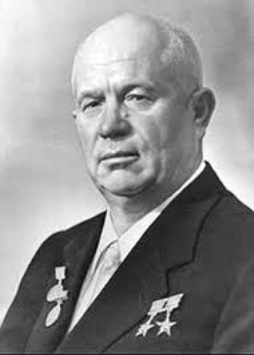 Former USSR Premier, Nikita S Khruschev, whose decision to merge Crimea with the Ukraine in 1954 has resulted in major ramifications for people living in the region and for East-West relations today.