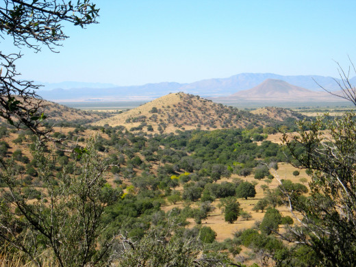 A sweeping vista in Cochise County