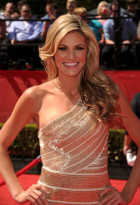 Erin Andrews is arguably the best female sports journalist working today
