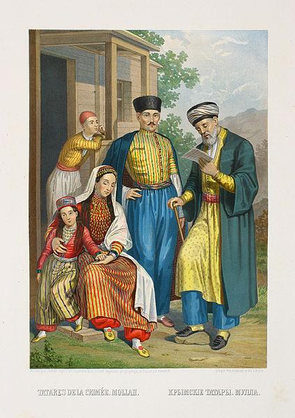 Artistic Depiction of Crimean Tatars