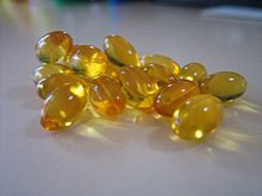 Cod liver oil is available in capsule form