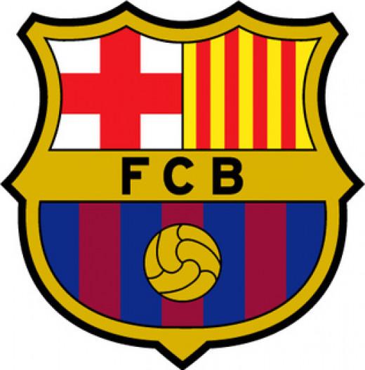 F.C. Barcelona logo.