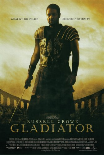 GLADIATOR MOVIE POSTER Russell Crowe RARE HOT NEW 24x36