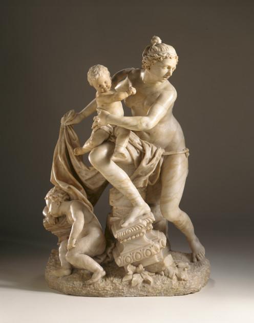 Leto with Twins Artemis & Apollo