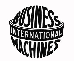 Former logo of IBM, International Business Machines