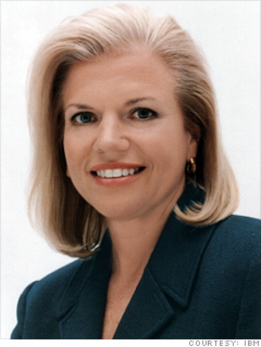 Ginni Rometty - the current CEO of IBM