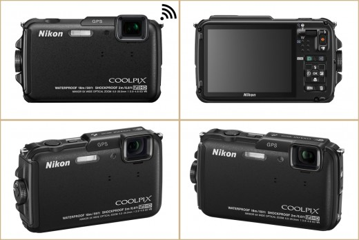 Nikon COOLPIX AW110 Wi-Fi & Waterproof Digital Camera with GPS Photo