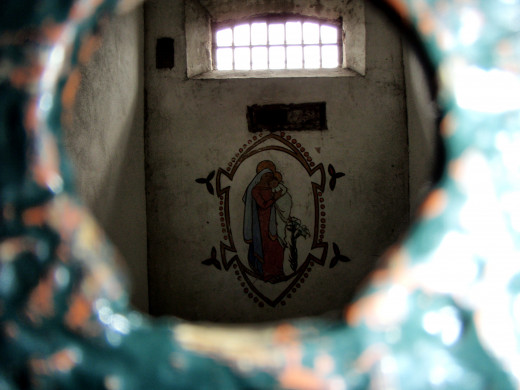 Artwork from inside of the cells.
