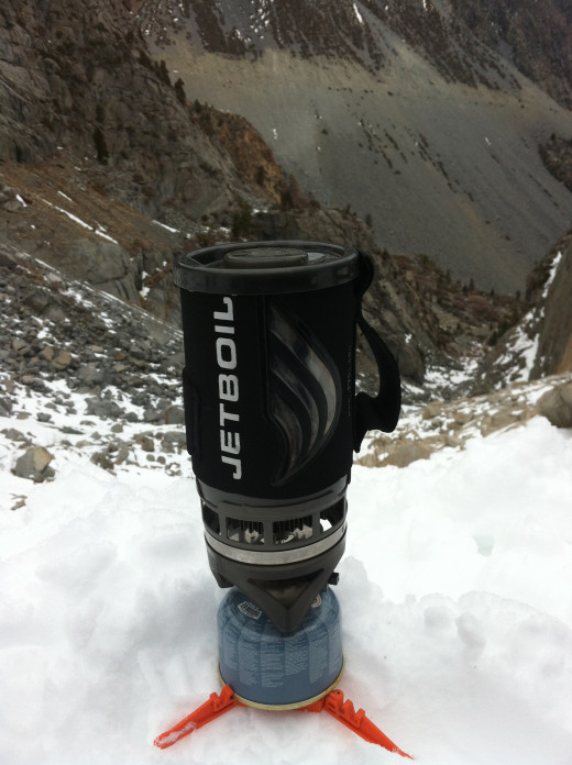 I learned from Bear Grylls, to always have a cup of tea on top of a mountain.  It warms the soul.  I learned that Jetboils do work below freezing, at 9,000 feet. Just stuff the canister in your jacket for more power.