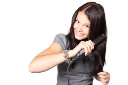 Did you know those straightening irons could be making your dry hair worse?