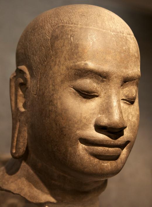 King of the Khmer Empire -- Jayavarman VII.