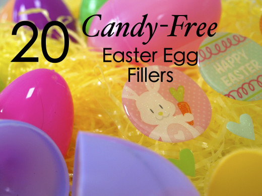 Ideas for Easter Eggs - Candy-Free Fillers