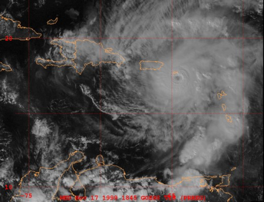 Hurricane Lenny Was A Rare November Hurricane For The Caribbean