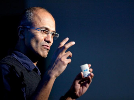 Satya Nadella - New CEO _ Indian-American business executive