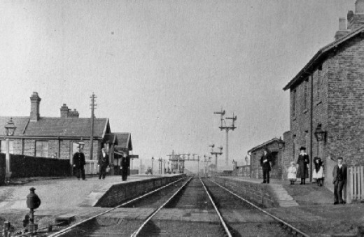 Called Ingleby Junction when the line opened in the 1880's as the North Yorkshire & Cleveland Railway with an incline for ironstone wagons to/from Rosedale and line from Picton - later renamed Battersby Junction and finally plain Battersby