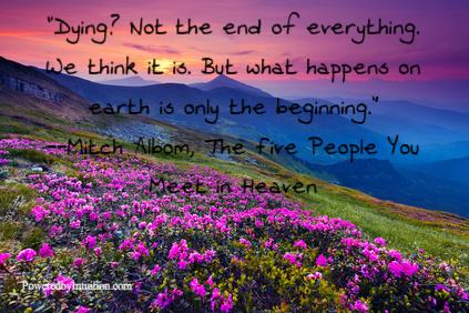 Mitch Albom quote Added 3/22/2014