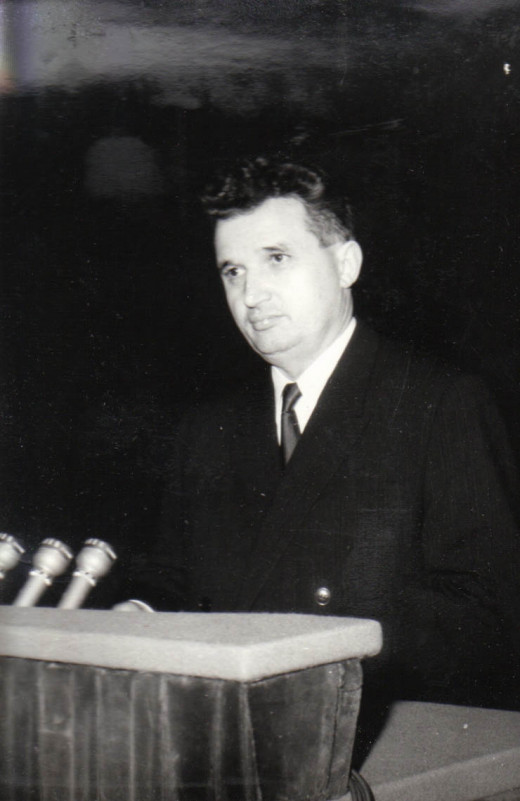 Ceausescu in 1966 at 48 years of age