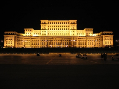 "Known as: Casa Poporului ""Palace of the People"" or Palace of the Parliament"