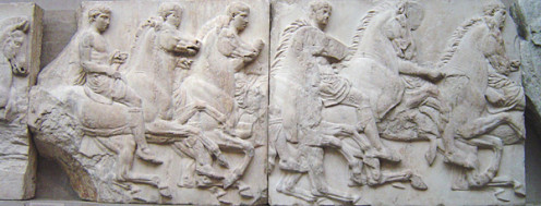 Frieze Sculpture from Elgin Marbles
