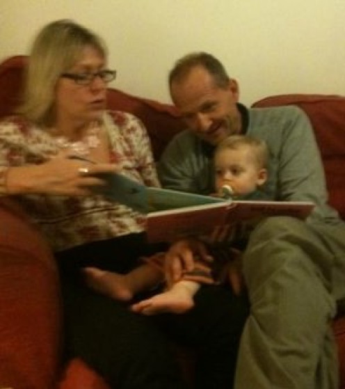Encourage grandparents or other relatives to read with children