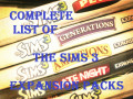 Complete List of The Sims 3 Expansion Packs With Trailers