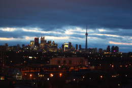Toronto, early morning.